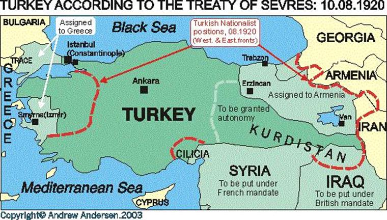 Andrew Andersen - Greece in the treaty of sevres