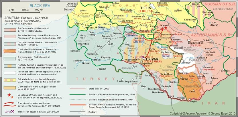 Kemalist Turkish invasion of Armenia