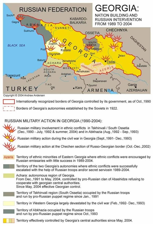 RUSSIA VERSUS GEORGIA: ONE UNDECLARED WAR IN THE CAUCASUS ... on