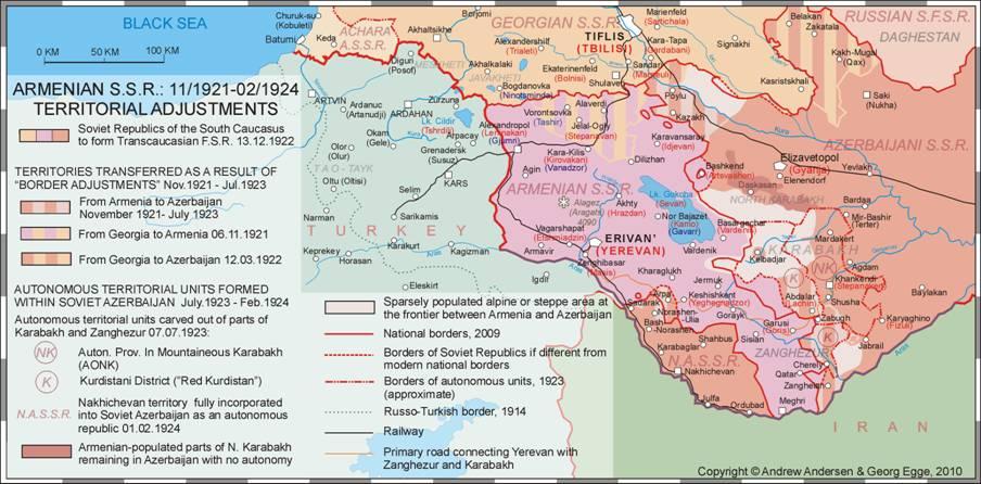 Map Jpg - Georgia map 1921