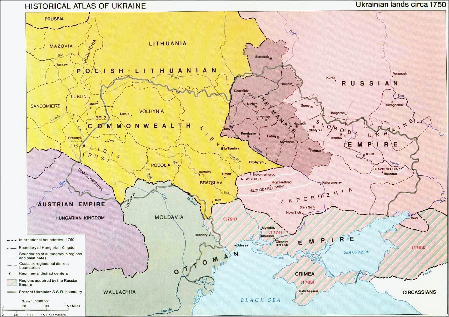 Территория украины подарки русских царей