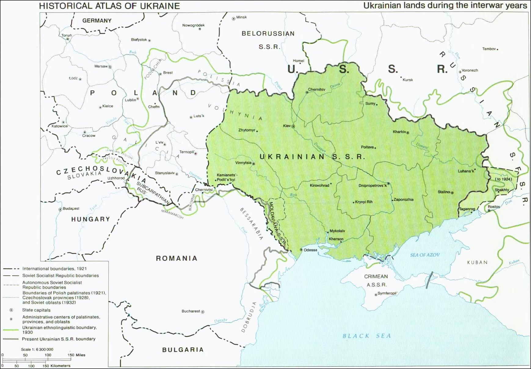 Holodomor Maps and demography