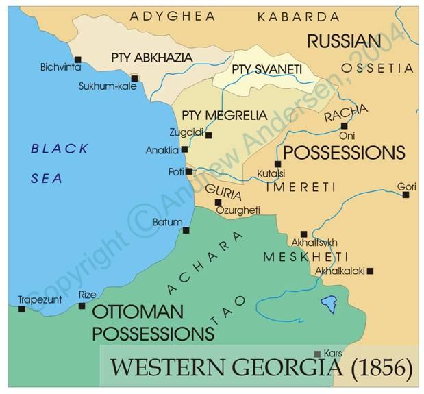SHORT HISTORY OF ABKHAZIA ABKHAZIANGEORGIAN RELATIONS - Abkhazia georgia russia map