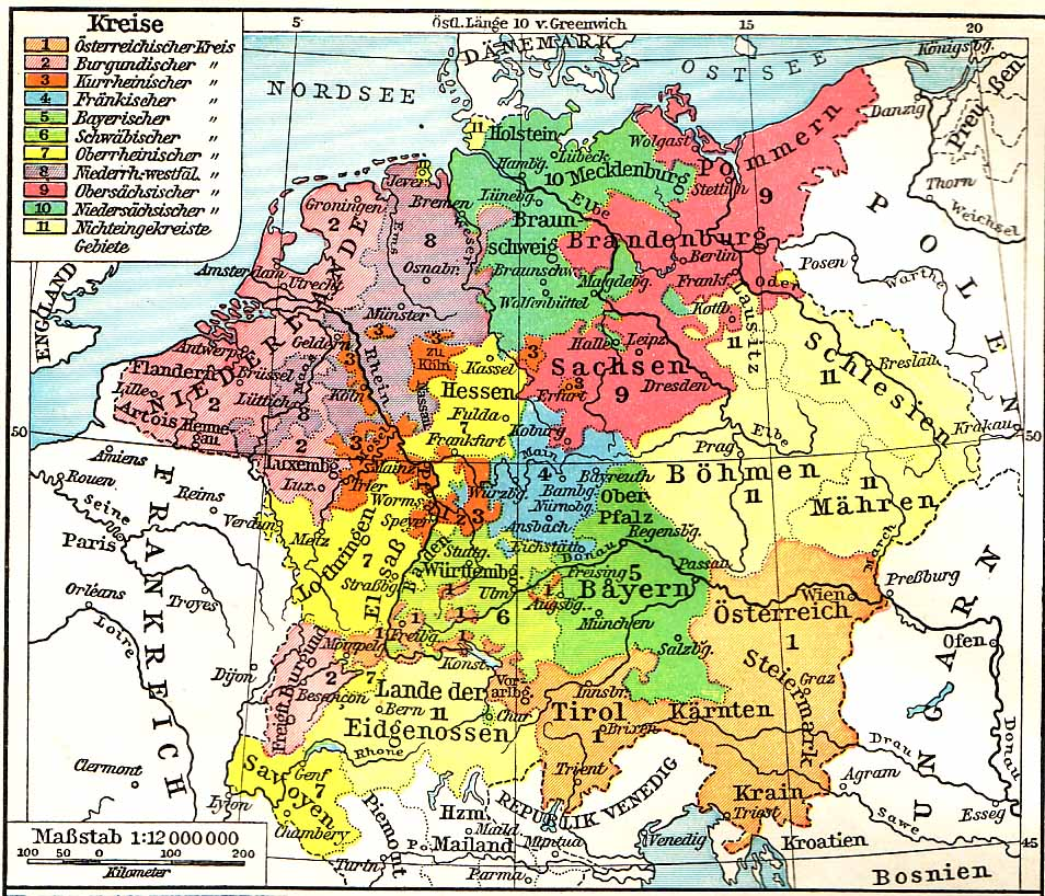 Andrew Andersen - Map germany thirty years war